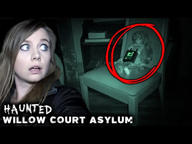 Talking to CHILD SPIRITS in HAUNTED ASYLUM | Creepy Night in Willow Court Ladies' Cottage