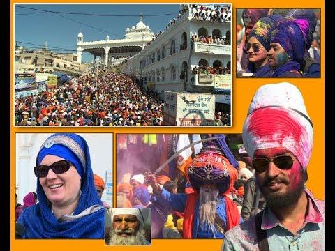 Hola Mohalla Celebrated at Shri Anandpur Sahib-Spl. Report Part (3) on Ajit Web Tv.