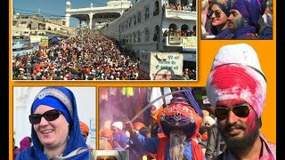 Hola Mohalla Celebrated at Shri Anandpur Sahib-Spl. Report Part (3) on Ajit Web Tv.
