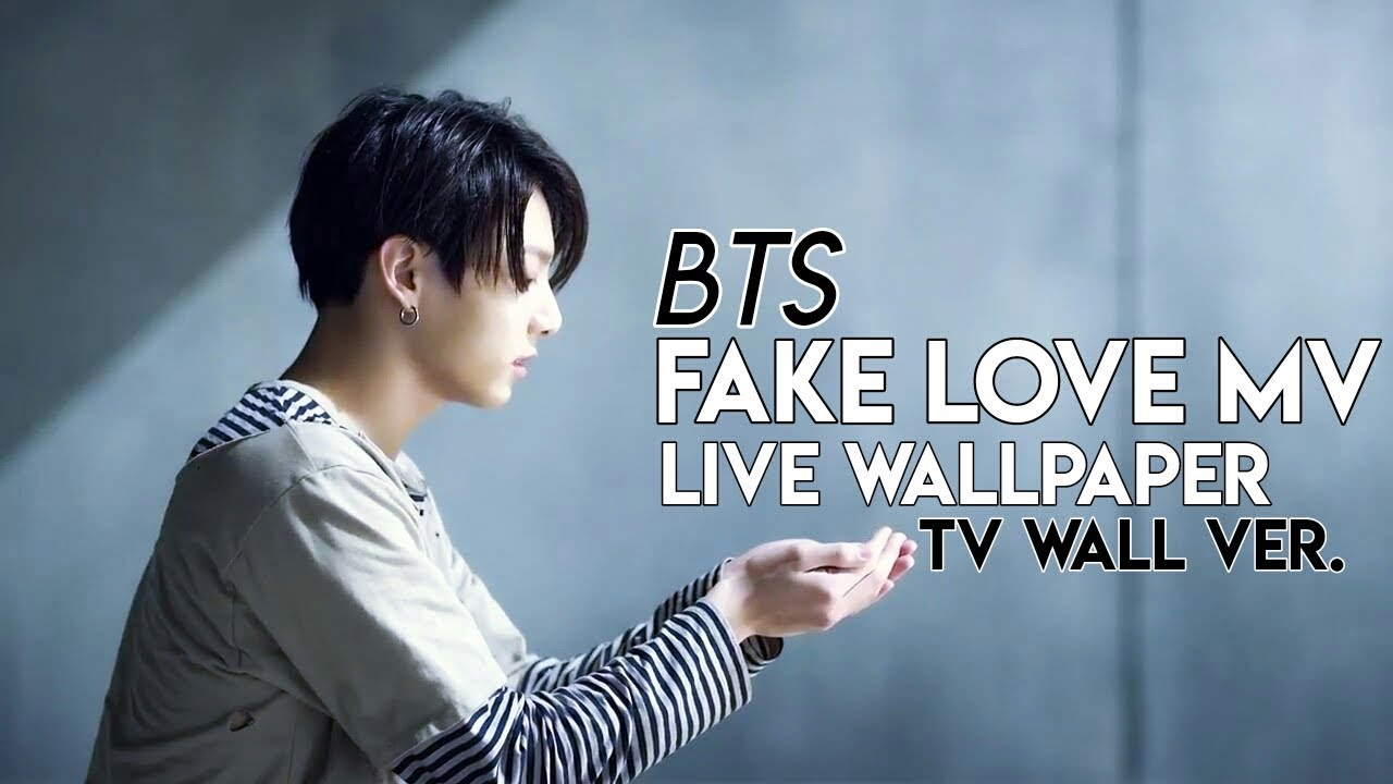 BTS Fake Love MV Live Wallpaper [TV Wall Ver.] (Android/iOS) - YouTube