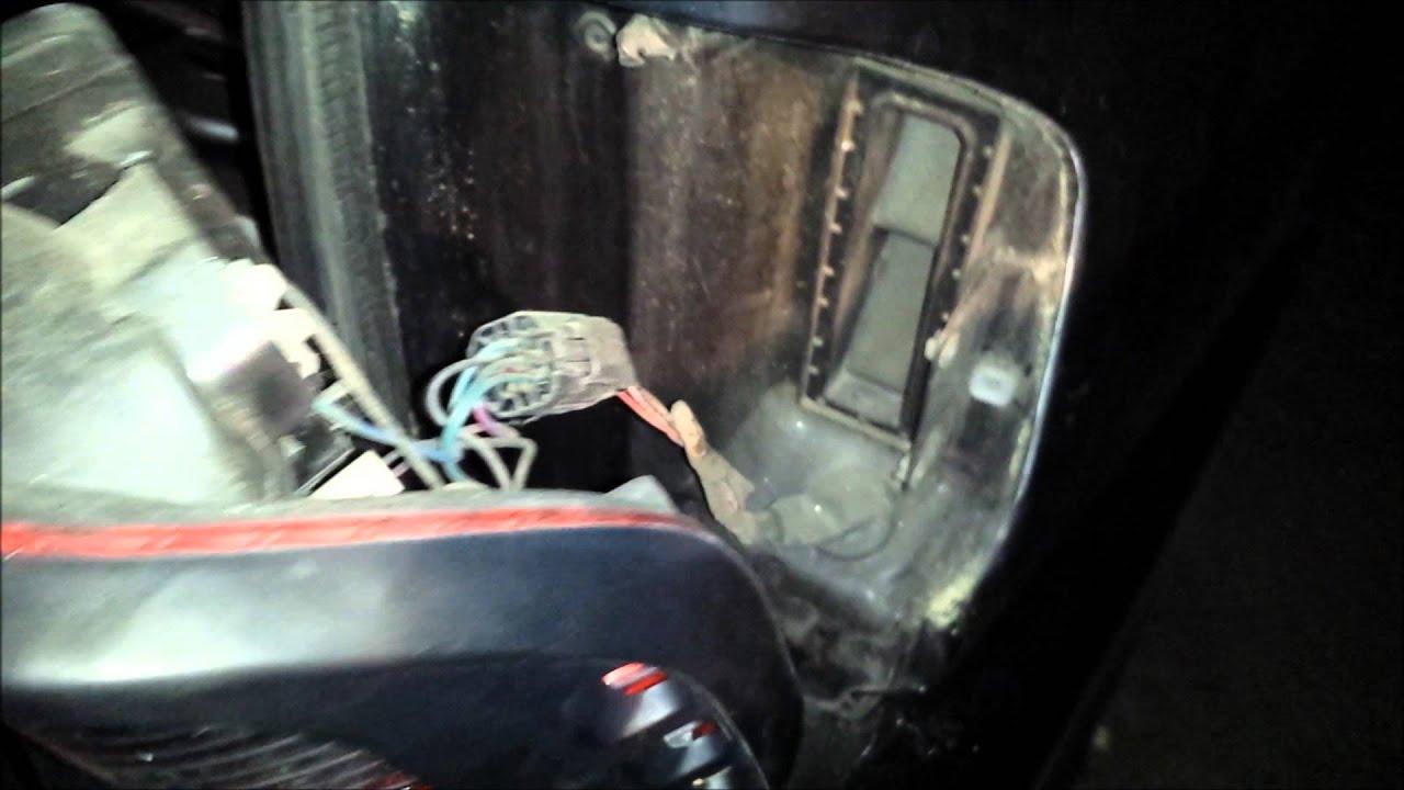 1996 Jeep Cherokee Headlight Switch Wiring Diagram 2001 Isuzu Rodeo Brake Light Replacement Youtube