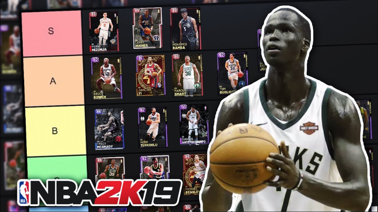 Ranking The Best Budget Players In Nba 2k19 Myteam Tier List