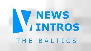 News intros: the Baltics / Czołówki dzienników: kraje bałtyckie (12) - 2017
