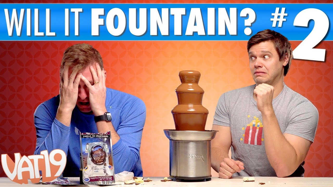 Ultimate Fountain Challenge #2 [Spicy Chocolate Fountain]