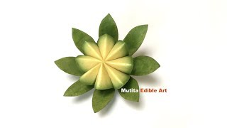 Banana  | Avocado | Simple Step By Step Video Lessons | Mutita Edible Art Of Fruit & Vegetable Carvi