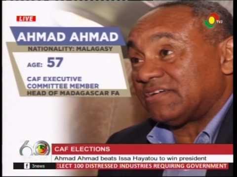 Ahmad Ahmed beats Issa Hayatou to win president -16/03/2017
