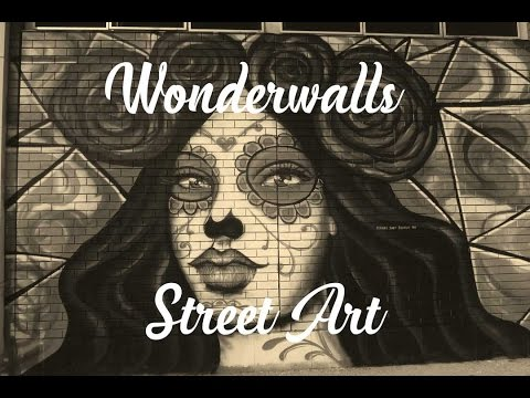 Wonderwalls street art exhibition at Port Adelaide 2017