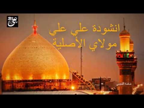 أنشودة علي علي مولاي