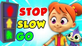 Traffic Safety Song | Nursery Rhymes For Children | Songs For Kids