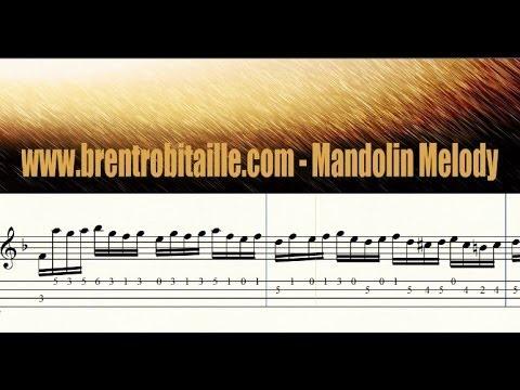 Mandolin Tab - Advanced Level - Bach - C Minor Prelude - Advanced