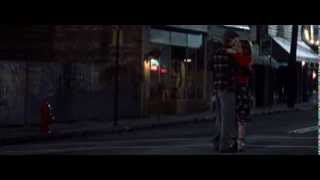 Noah and Allie dancing in the street