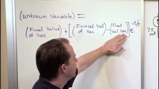 Lesson 15 - Use Generalized Form To Solve Step Response Circuit Problems