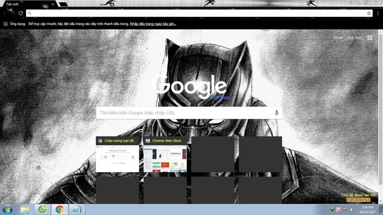 Hướng dẫn cài THEME (hình nền) cho mọi trình duyệt | Cốc Cốc và Google Chrome