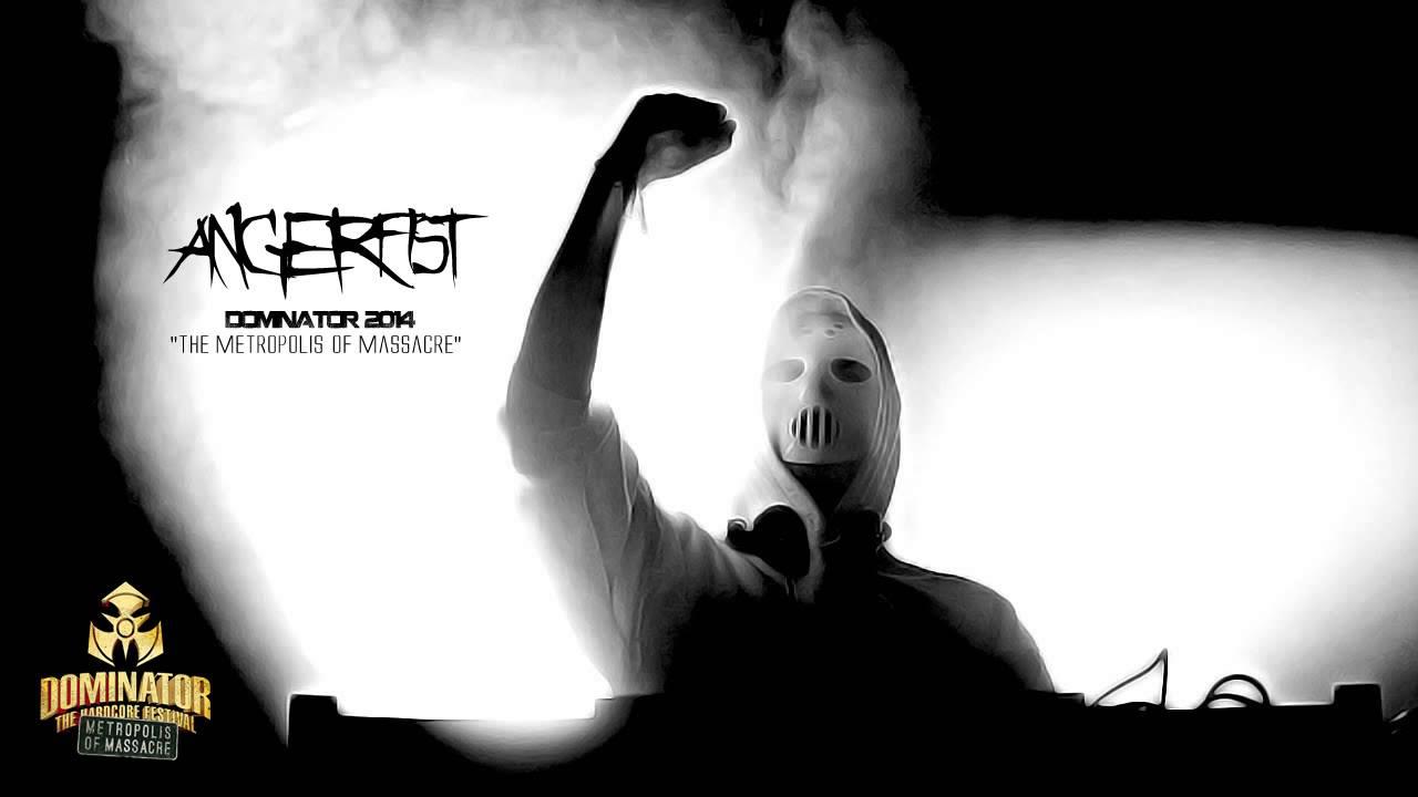 Angerfist At Dominator 2014 Liveset
