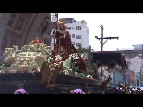 Dolorosa de San José, Semana Santa 2012, Guatemala