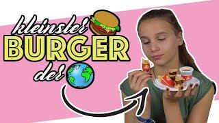 Kleinster Burger der Welt ! (Burger aus Pulver?!)