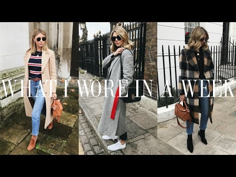 Vlog #24 | What I Wore In A Week | ALL The Outfits