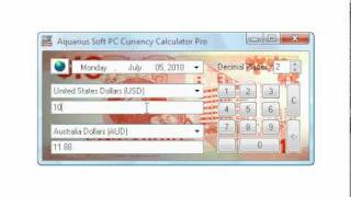 USD/AUD Forex Rates and Currency Converter (PC)