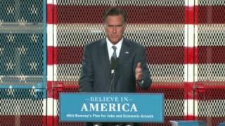Romney: je vais créer 11 millions d'emplois