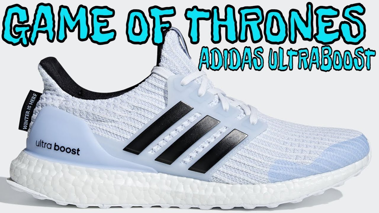 c561771d3 GAME OF THRONES x ADIDAS ULTRABOOST  WHITE WALKER  SNEAKER REVIEW ...