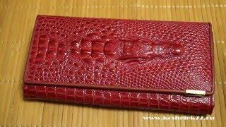 Купить женский кошелек Crocodile / Koshelek77.ru(Купить женский кошелек Crocodile недорого http://www.koshelek77.ru/vidy-koshelkov/krasnye-koshelki/koshelek-zhenskiy-model-vn-275 Кожаные ..., 2016-04-23T18:07:54.000Z)
