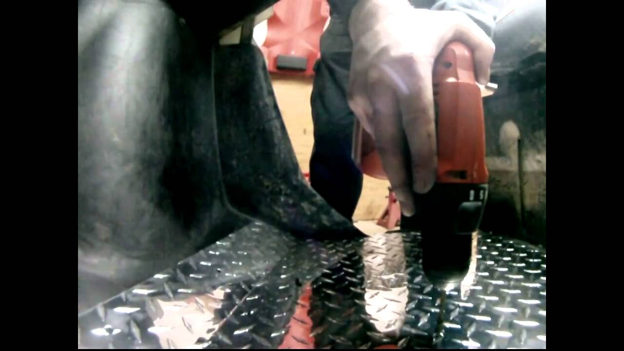 Yamaha rhino rubber floor mats - Installing Emp S Diamond Plate Floors For The Yamaha Rhino