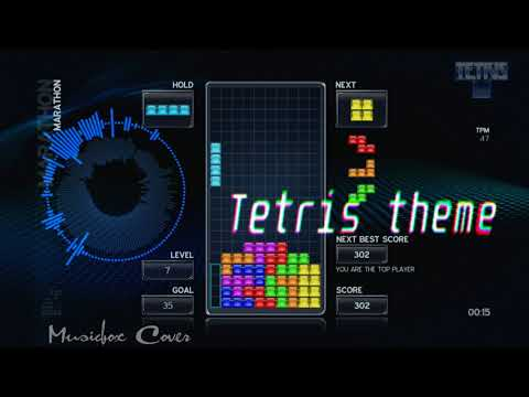 [Music box Cover] Tetris theme A (Korobeiniki)