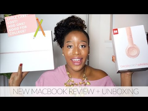 New Macbook Review + Unboxing | College Student Package