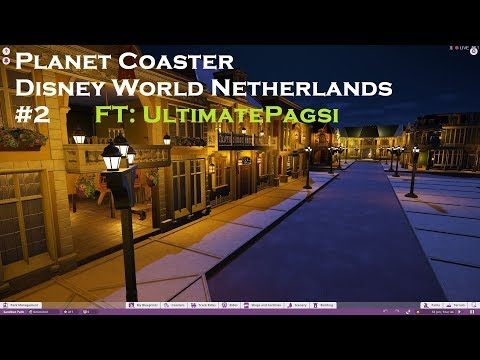 [PlanetCoaster] Disney World Netherlands #2 Featuring:UltimatePagsi - Tower of Terror Lobby