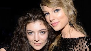 Lorde Hints She's Not in Taylor Swift's Squad: 'I Don't Hang Out With These People'