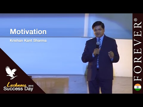 Motivation by Krishan Kant Sharma at Lucknow Success Day