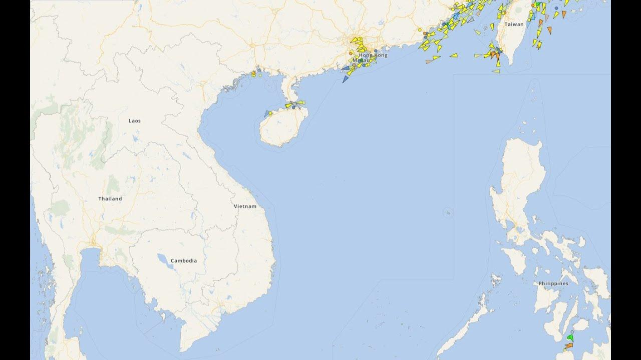Hướng dẫn cách theo dõi vị trí tàu biển trên Biển Đông