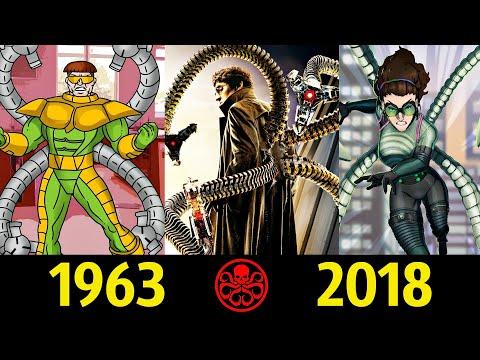 �� Доктор Осьминог Эволюция (1963 2018)! Все Появления Отто Октавиуса ��!