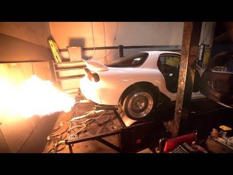 We installed a Flamethrower tune on my Rx-7...