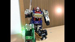 【戦隊1号ロボ再現】戦隊20 激走戦隊カーレンジャー DXRVロボに激走合体!前田動画 Gekisoui Sentai CARRANGER DX RVROBO