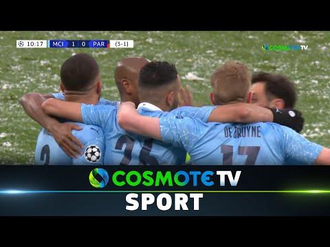 Μαν. Σίτι - Παρί Σεν Ζερμέν (2-0) Highlights - UEFA Champions League 20/21 - 4/5/21|COSMOTE SPORT HD