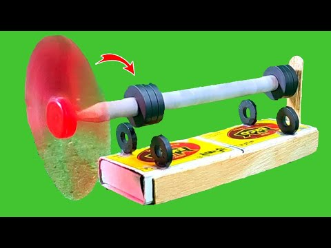 Physics Project Working Model Using Magnet | School Project | Magnets Project | Science Project