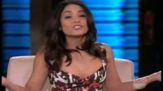Vanessa Hudgens on Lopez Tonight Part 1 3/29/2011