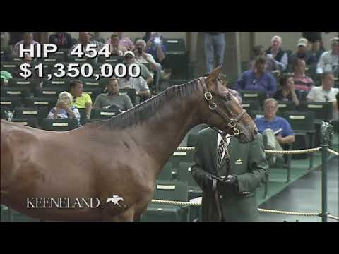 Mendelssohn as a Keeneland September Yearling