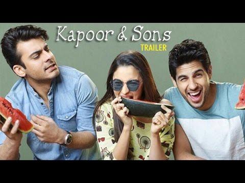 Kapoor & Sons Official Trailer |Siddharth Malhotra, Alia Bhatt, Fawad Khan | Releases