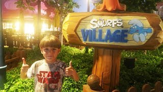 Smurf Village Play - Playgrounds and Rides - Dubai Parks and Resorts