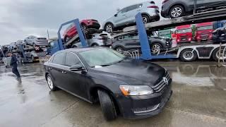 АВТО ИЗ США|VW PASSAT B7 2.5 | ОБЗОР ДОСТАВЛЕННОГО АВТО