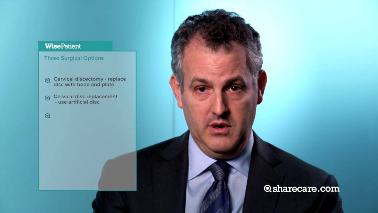 Dr. Andrew Hecht on Cervical Spine Surgery