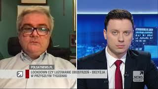 Możliwe obostrzenia i nowe restrykcje. Prof. Andrzej Fal o zaostrzaniu ograniczeń