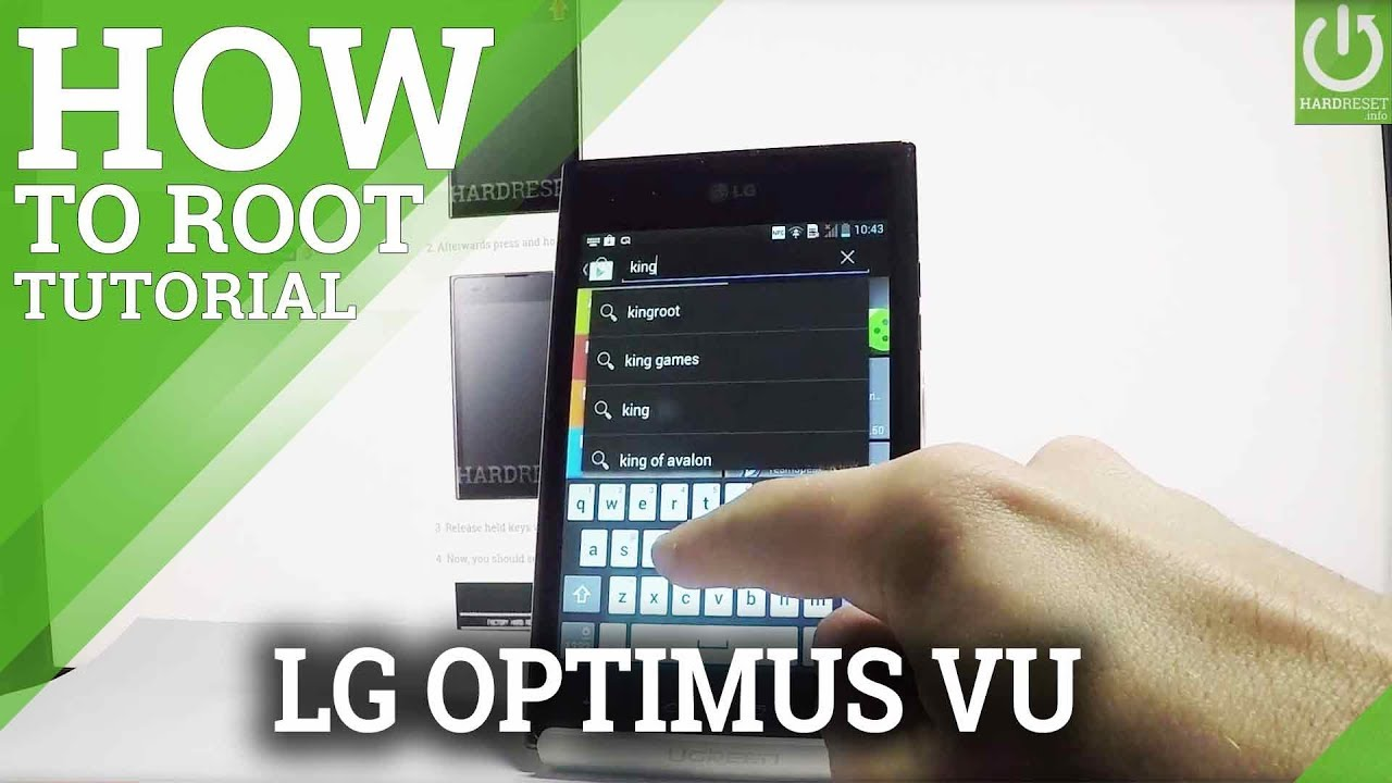 Resetting Videos LG SU880 Optimus EX - HardReset info