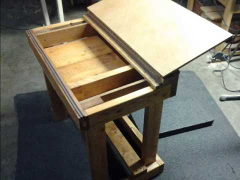 School Desk Built By Brady