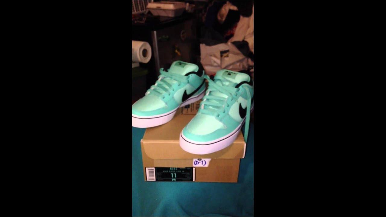 Nike SB Dunk Low LR Tiffany Mint