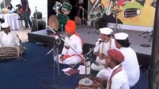 Folk Music of Maharashtra - Avadhoot Sudhir Gandhi at Baajaa Gaajaa 2011