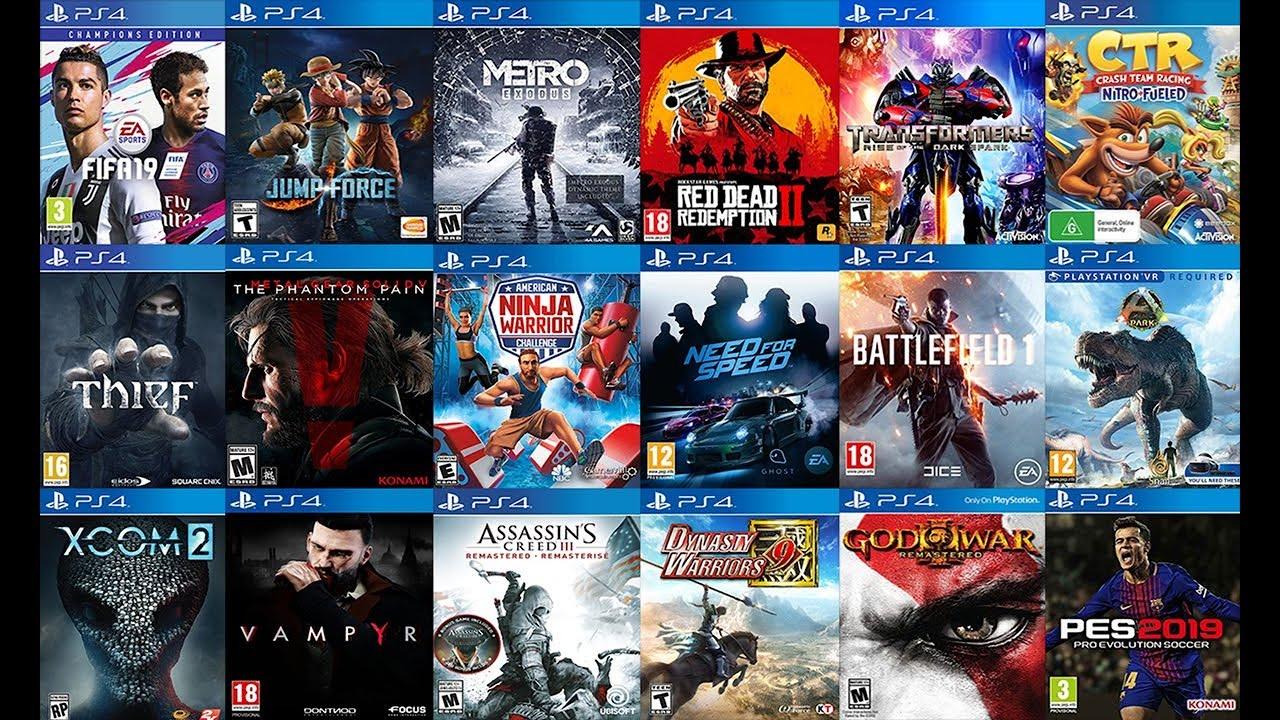 TOP 25 เกมที่ดีที่สุดของ PS4