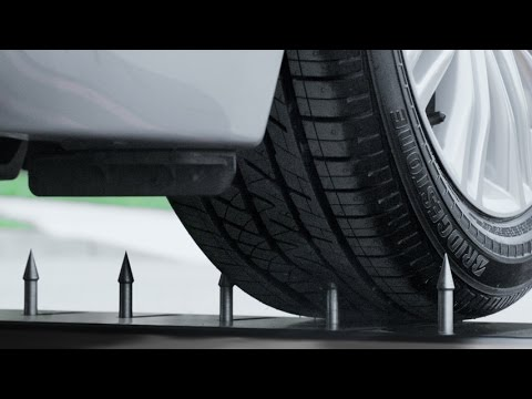 driveguard run flat tire by bridgestone youtube. Black Bedroom Furniture Sets. Home Design Ideas